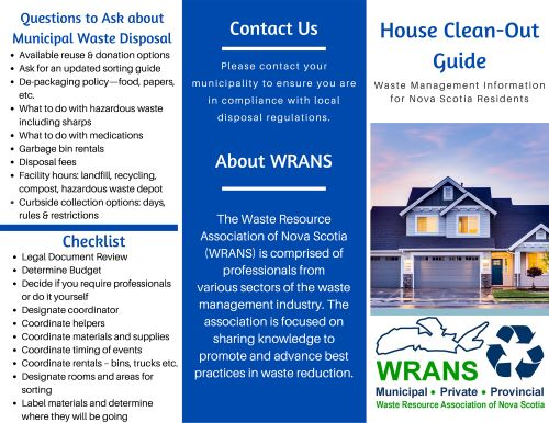WRANS House Clean Out Guide